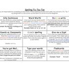 This Spelling Tic Tac Toe is a great way to provide variety and interest in your spelling or word work activities. Children love to have choices an...