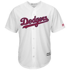Los Angeles Dodgers Majestic Fashion Stars & Stripes Cool Base Jersey - White