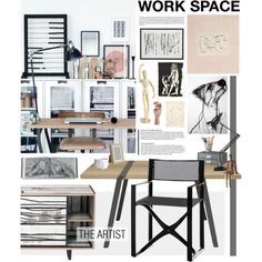 """""""Work Space"""" by bellamarie on Polyvore"""