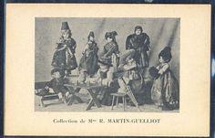 QJ108 COLLECTION de MME MARTIN-GUELLIOT DOLLS Poupées PHOTO pc