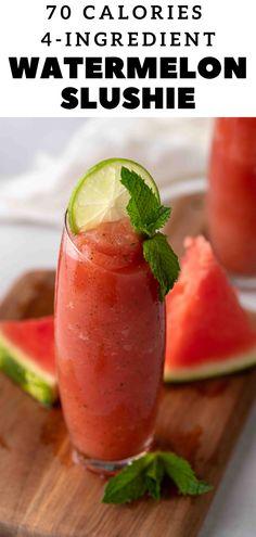 Best Gluten Free Recipes, Top Recipes, Raw Food Recipes, Vegetarian Recipes, Healthy Recipes, Drink Recipes, Delicious Recipes, Granite, Watermelon Slushie
