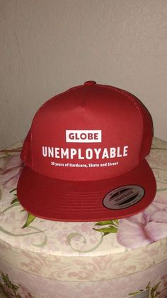 Globe Skate/Street Wear Adjustable Snapback Hat #Globe