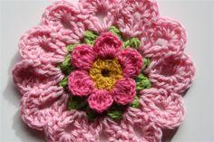 flor rosa, via Flickr.