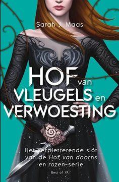 Boek cover Hof van doorns en rozen 3 - Hof van vleugels en verwoesting van Sarah J. Maas