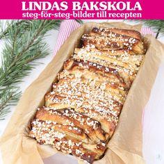 Julig och saftig vetelängd (Pull apart bread) med smak av pepparkaka.