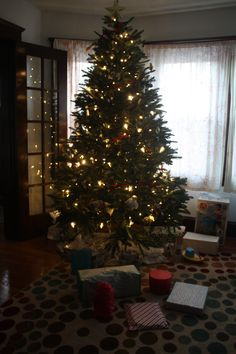 Last year's Christmas tree decor