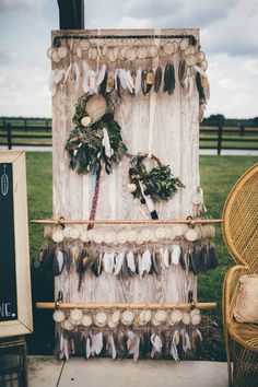 These feathered dreamcatchers are perfect for guests to take home | Image by Amber Phinisee