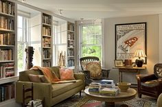 Traditional Comfortable Living Room Design Ideas, Pictures, Remodel and Decor