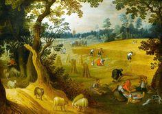 アベル・グリマー (Abel Grimmer)「An Allegory of Summer」