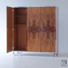 3 t riger bauhaus kleiderschrank von hermann john hagemann zeitlos berlin m bel. Black Bedroom Furniture Sets. Home Design Ideas