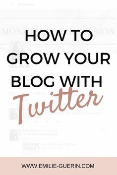 Twitter, grow your b
