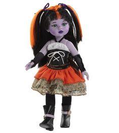 Poupée paolareina monster tenue orange www.poupee-paolareina.com - La boutique des poupées Paola Reina #dolls #poupées