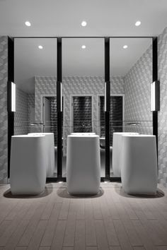 The Collins Adelaide Hilton Hotel by Woods Bagot (love the tile & floors in the bathroom here)