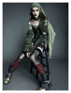 Grunge Fashion: style of the late 1980s/ early 1990s, originated as clothes worn…