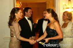 Mary from the start: Gala at the Swedish embassy --November 14 2003--