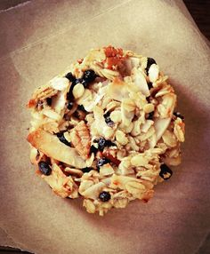 These Blueberry Coconut Pecan Breakfast Cookies are your stop if you're looking for the tastiest and easiest grab-and-go breakfast cookie out there! Breakfast Bars, Health Breakfast, Breakfast Cookies, Free Breakfast, Cookies Gluten Free, Healthy Cookies, Healthy Desserts, Cookies Vegan, Brunch Recipes