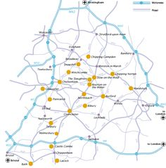 Map London to the Cotswolds London Map, London Travel, Cotswolds Map, Beautiful Places In England, Isle Of Wight, London Calling, East Sussex, Travel Inspiration, Travel Ideas
