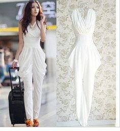 8c109139a7cf Shop Kami Shade  - Love Me Harem Style White Jumpsuit