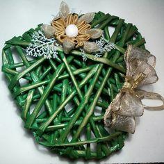 #cuore #fattoamano #verde #creazionifatteincasa #natale