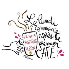 Quotes calligraphy coffee new ideas Quotes Francais, Happy Quotes, Best Quotes, Bible Quotes, Bible Verses, Take A Smile, Nature Words, Bon Weekend, French Quotes