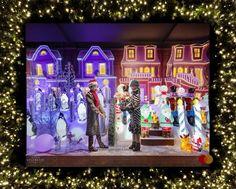 Christmas Windows New York 2021 200 Christmas Windows In New York City Ideas In 2021 Windows Holiday Window Display Christmas Window Display