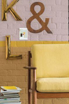 Painting: 2016 new Dulux Valentine Yellow Interior, Gold Interior, Interior Design, Pantone, Dulux Colour Chart, Gold Painted Walls, Dulux Valentine, Piece A Vivre, Color Of The Year