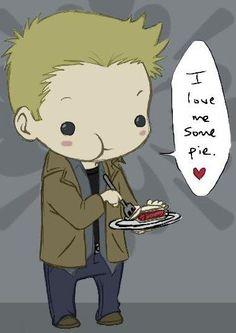 Dean from Supernatural! ;).