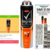 Degree Men Dry Spray Antiperspirant