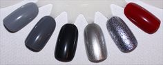 OPI Fifty Shades of Grey Swatches