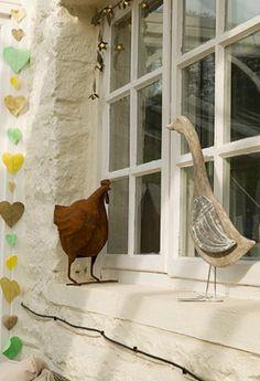 Chicken vs duck!