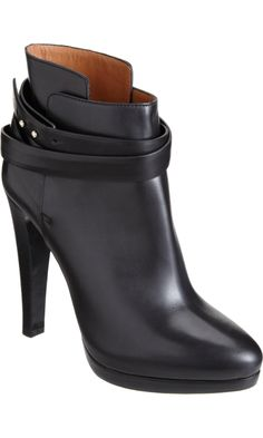 I've met my bootie solemate!  Oh, Giorgio Armani Ankle Wrap Boot, why do you cost 2 weeks' rent?