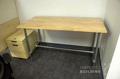 Adjustable Height Desks for the Ideal Workspace  #KeeKlamp #standingdesk