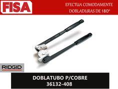 """DOBLATUBO P/COBRE 36132-408. Efectua comodamente dobladuras de 180""""- FERRETERIA INDUSTRIAL -FISA S.A.S Carrera 25 # 17 - 64 Teléfono: 201 05 55 www.fisa.com.co/ Twitter:@FISA_Colombia Facebook: Ferreteria Industrial FISA Colombia"""