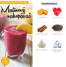 Fitness Smoothies, Smoothie Prep, Smoothie Drinks, Fruit Smoothies, Smoothie Recipes, Snack Recipes, Healthy Drinks, Healthy Cooking, Healthy Snacks