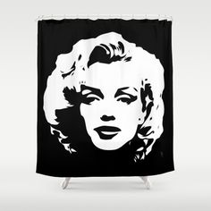 Pop Art Marilyn Monroe Shower Curtain