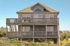 Oceanfront Vacation Rental - Croatoan