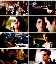 Stalia moments of season 5A | @jetblacklove