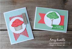 Sprinkles of Life, Annual Catalog Sneak Peek, ice cupcake and tree, blender pen, photopolymer stamps Blender Pen, Creative Studio, Fun Projects, Sprinkles, Stampin Up, Catalog, Cupcake, Stamps, Ice