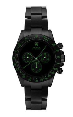 Rolex Green Daytona Chrono I want it!