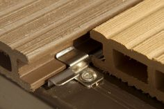 NatureDeck is a low-maintenance & durable wood-composite material. The material consists of 70% recycled plastic and 30% recycled wood. There are no disadvantages like rotting, warping or splintering. The material is bendable and available in various colours and finishes.