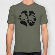 Do you see the couple and the many faces? T-shirt by Denis Marsili - $18.00