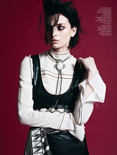 visual optimism; fashion editorials, shows, campaigns & more!: rose smith by ryan michael kelly for harper's bazaar kazakhstan march 2015