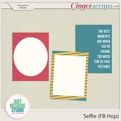 Check out our new blog!  QualityScrapbooking Tutorials  hand selected tutorials for digital, paper and hybrid scrapbooking        Selfie ...