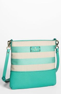 Kate Spade stripes - Mint - Purse - Handbag