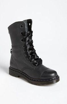 I got mine in dark brown and on sale today!! ready for fall- Dr. Martens 'Aimilie' Boot available at #Nordstrom