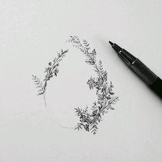 Картинки по запросу small flower bouquet tattoo