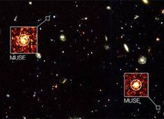 El universo profundo en 3D. Más en explora.cl