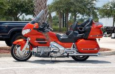 Travel cross country on a Honda Goldwing