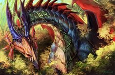 Stoned dragon by AcidAmbient.deviantart.com on @deviantART