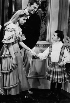 Judy Garland, Henry H. Daniels Jr. and Margaret O'Brien (deleted scene from Meet Me In St. Louis, 1944).
